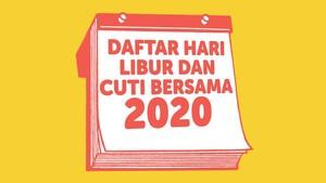 INFOGRAFIS: Daftar Hari Libur Nasional 2020 Hasil Revisi