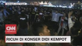VIDEO: Ricuh di Konser Didi Kempot