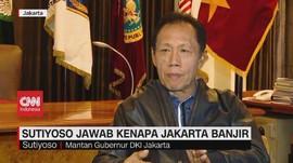 VIDEO: Sutiyoso Jawab Kenapa Jakarta Banjir