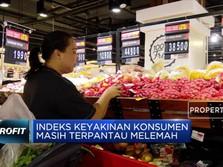 Indeks Keyakinan Konsumen Masih Terpantau Lemah