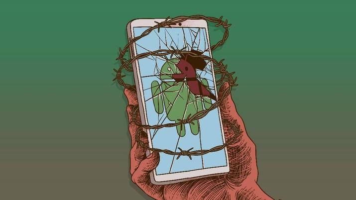 Infografis: 1 Miliaran HP Android Terancam Malware, Ini Cara Menangkalnya