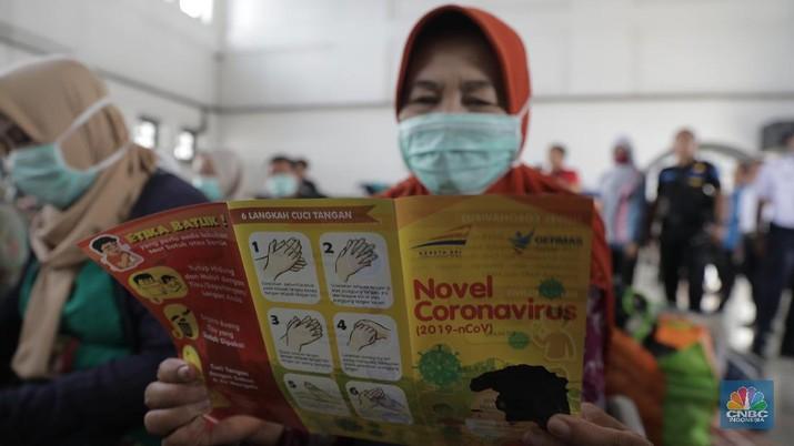Ini Antisipasi Penularan Virus Corona di Stasiun Pasar Senen