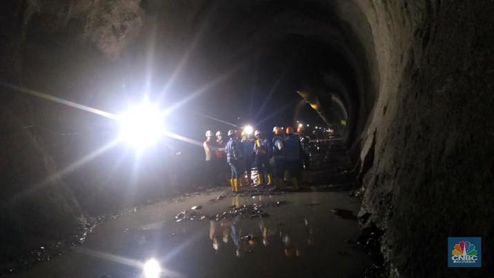 Proyek Pembangkit Listrik Tenaga Air (PLTA) Asahan 3 bakal dilengkapi dengan terowongan sepanjang 8 Km.