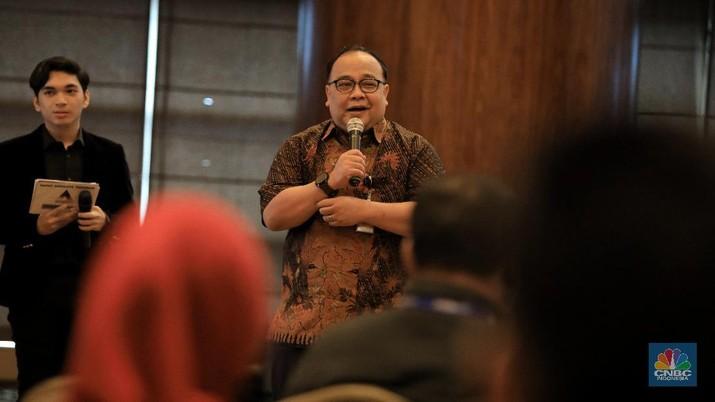Rapat Anggota Tahunan Periode 2019 Koperasi Konsumen Transmedia (CNBC Indonesia/Andrean Kristianto)