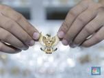 Corona Mewabah, Arah Saham Emiten Emas RI Variatif