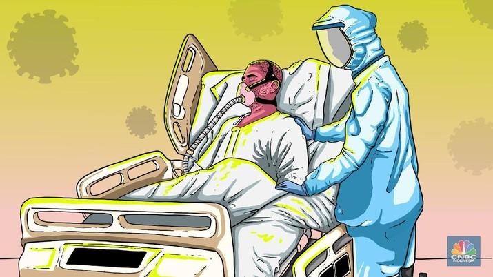 Jumlah pasien positif virus corona Jatim bertambah jadi 90 kasus. Informasi mengenai perkembangan corona di Jatim bisa diakses di infocovid19.jatimprov.go.id.