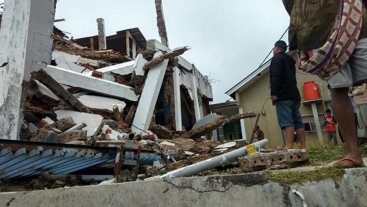 Begini Kerusakan Akibat Gempa M 4,9 di Sukabumi