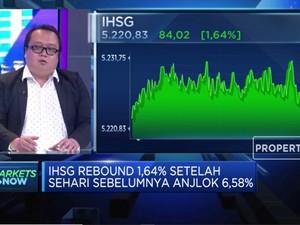 OJK Izinkan Emiten Buyback Saham, IHSG Rebound 1,64%