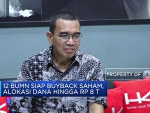 Anggarkan Dana Rp 8 T, 12 BUMN Siap Buyback Saham
