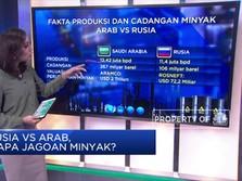 Duel Panas! Rusia VS Arab, Siapa Jagoan Minyak?
