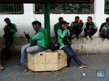 Jakarta PSBB Total, Driver Ojol Kehilangan Pendapatan 80%