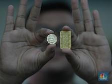 Tuh Kan Ambles! Harga Emas Antam Hari Ini Rp 955.120/gram