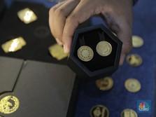 Emas Dunia Menuju US$ 1.810/oz, Emas Antam Melesat Rp 12.000
