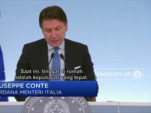 Akibat Corona, Per 10 Maret 2020 Italia Resmi Lakukan Isolasi