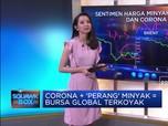 Corona + 'Perang' Minyak = Bursa Global Terkoyak