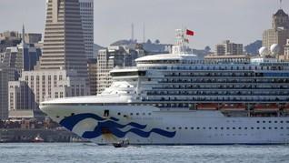 Kapal dengan Penumpang Positif Corona Berlabuh di California