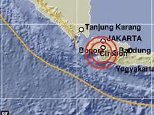 Rangkasbitung Diguncang Gempa M 5,4, Tak Berpotensi Tsunami