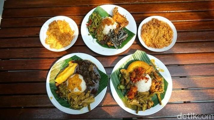 Kabar gembira, masakan khas Indonesia disebut bisa tangkal corona. Mulai dari sayur lodeh sampai nasi kapau!
