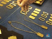 Jangan Panik ya! Harga Emas Antam Hari Ini Ambles Rp 7.000