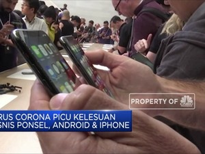 Virus Corona Picu Kelesuan dalam Bisnis Ponsel