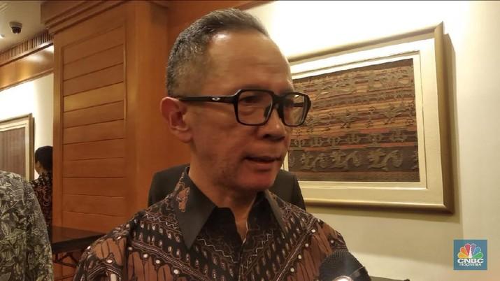 Wakil Menteri Luar Negeri (Wamenlu), Mahendra Siregar (CNBC Indonesia/Rehia Indrayanti Beru Sebayang)