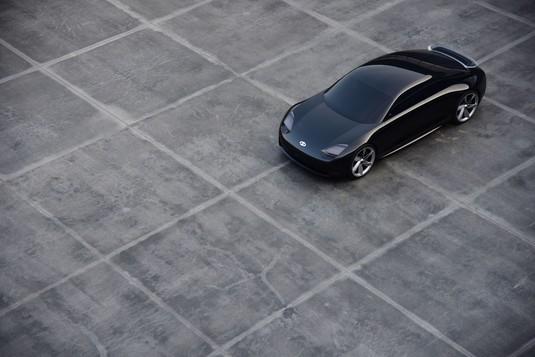 Penampakan Mobil Listrik Tanpa Sopir Buatan Hyundai
