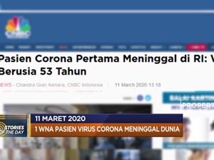 1 WNA Corona Meninggal Dunia hingga Laga The Gunners Ditunda