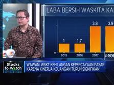 Kinerja Keuangan Turun, Saham Waskita Karya Amblas 55%