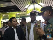 Antisipasi Corona, Erick Thohir Blusukan ke Stasiun Gambir