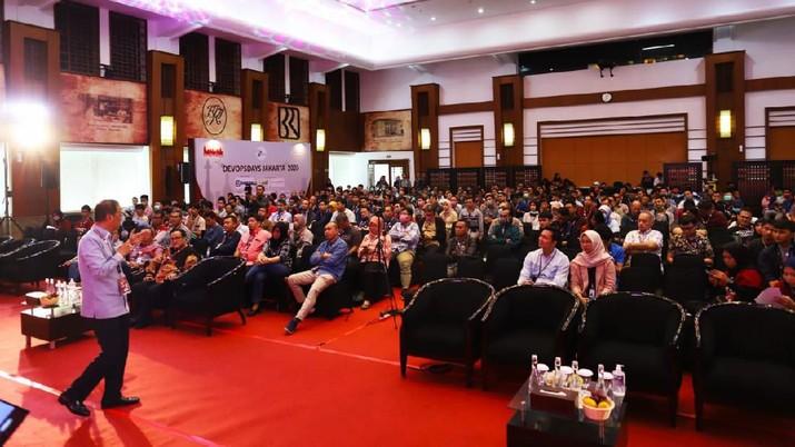 DevOpsDay Jakarta merupakan event berskala internasional berupa seminar terkait pengembangan software dan infrastruktur IT