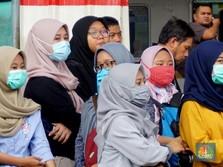 PSBB Masih 'Macan' Kertas, Stasiun KA Ramai Penumpang