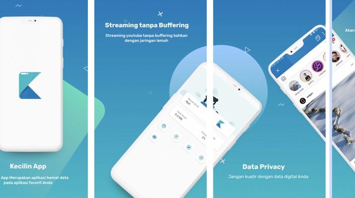 Sah Meluncur! KecilinApp, Aplikasi Penghemat kuota pertama di dunia untuk pengguna Android