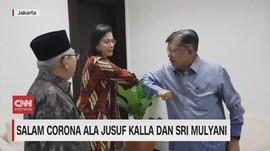 VIDEO: Salam Corona Ala Jusuf Kalla Dan Sri Mulyani