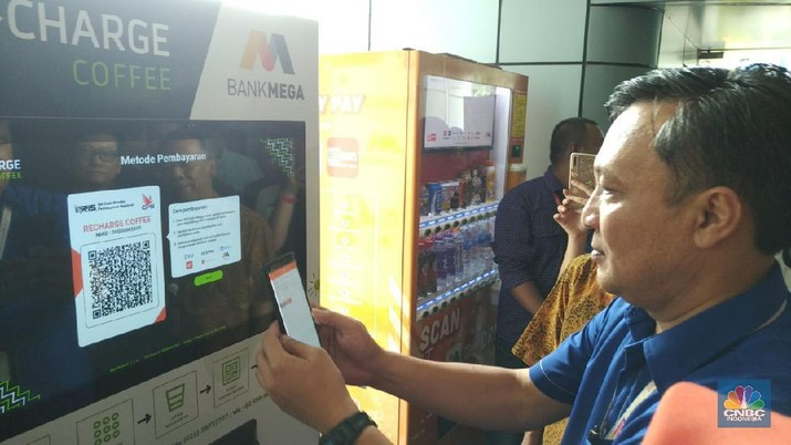 Bank Mega menargetkan ada 1 juta pengguna M-Smile hingga akhir tahun 2020.