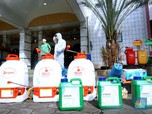 Penyemprotan Disinfektan & Sterilisasi Jalan Jakarta Hoaks!