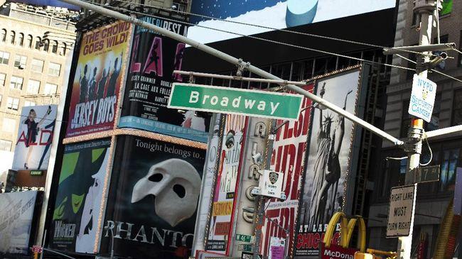 Pentas Broadway Tutup demi Cegah Penyebaran Virus Corona