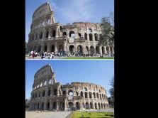 Melihat 'Before & After' Italia karena Virus Corona