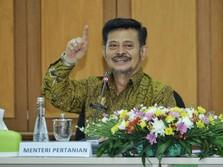 Mentan Syahrul Genjot Padat Karya Pertanian