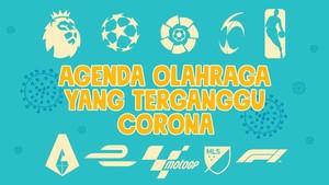 INFOGRAFIS: Agenda Olahraga yang Terganggu Corona
