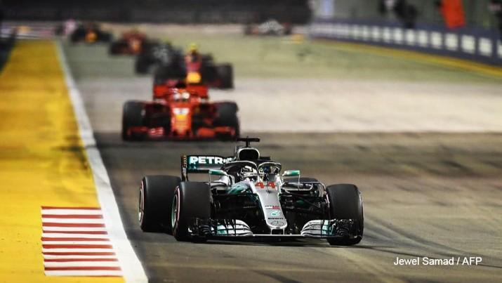 Grand Prix (GP) Formula Satu (F1) Australia dibatalkan.