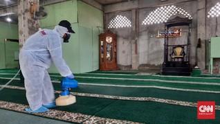 200 Jemaah Masih Diisolasi di Masjid Jami Kebon Jeruk