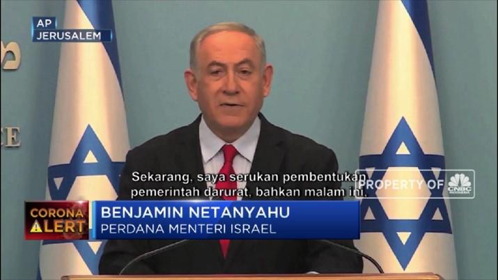 PM Israel Menyerukan Pemerintahan Darurat Corona