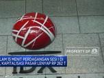 15 Menit Perdagangan Dibuka, IHSG Anjlok 5,01% & Trading Halt