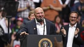 Bos UFC Rapat dengan Trump, Khabib vs Ferguson Belum Jelas