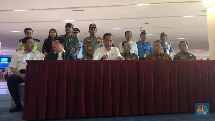 Presiden Joko Widodo (Jokowi) menegaskan langkah serius terus dilakukan.