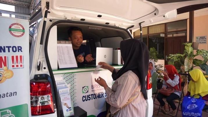Mobile Customer Service (MCS) yang dihadirkan oleh BPJS Kesehatan sebagai upaya mendekatkan layanan kepada masyarakat