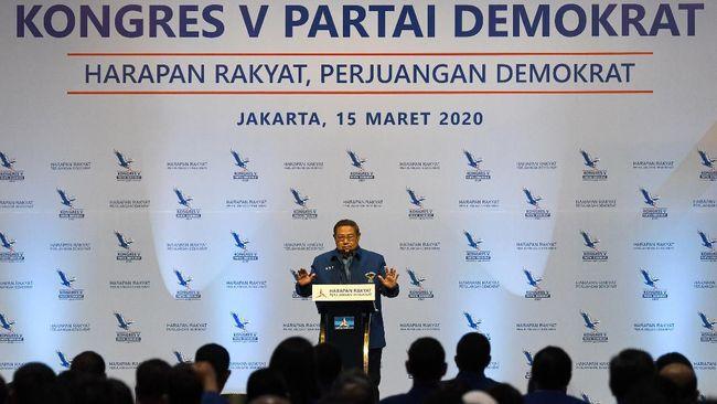 AHY Ketum Demokrat, SBY Kembali Jabat Ketua Majelis Tinggi