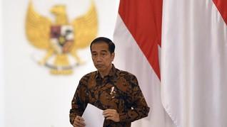 Jokowi Sebut 433 Desa Belum Dapat Aliran Listrik