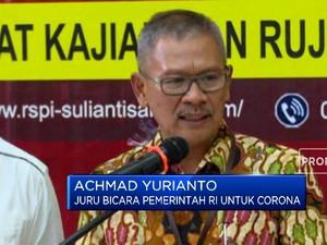 Jubir Pemerintah: Masyarakat, Kunci Pengendalian Virus Corona