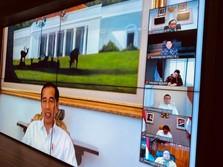 Antisipasi Tertular Corona, Jokowi Gelar Ratas Teleconference
